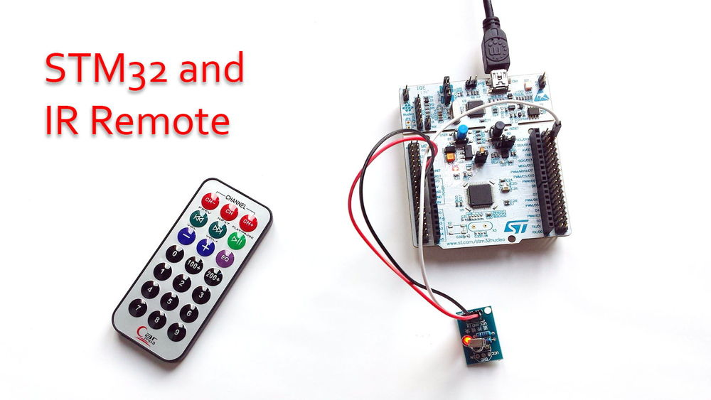 IR Remote and STM32 using ChibiOS