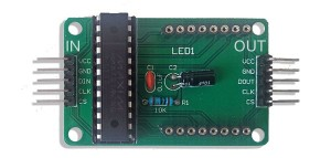 LED matrix driver circuit