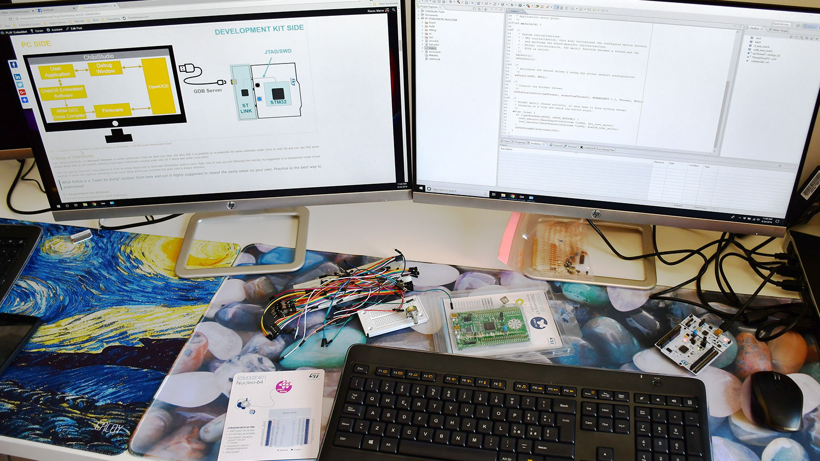 Developing with STM32 introducing ChibiStudio
